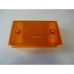 Cabochon de feu de recul orange droit - SM