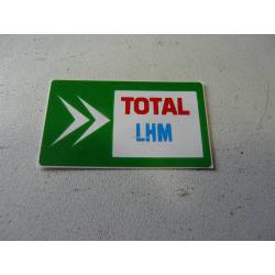 Autocollant bocal hydraulique