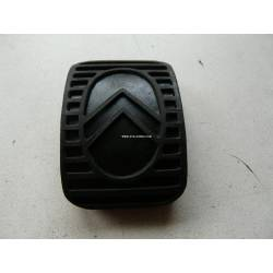 Rubber cover for parking brake pedal