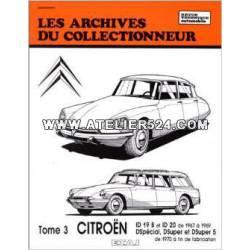 Les archives du collectionneur - DS tome 3