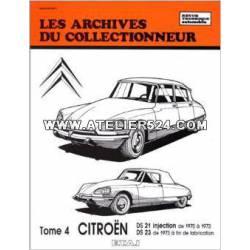 Les archives du collectionneur - DS tome 4