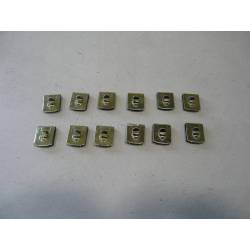 12 outside clips for glass gaskets