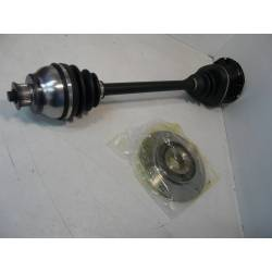 Left transmission shaft - from 09/65