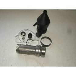 Complete LHM rear suspension cylinder - from sept.66