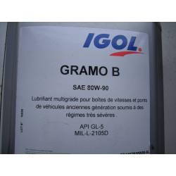 Huile de boite GRAMO 80/90 - 1 litre